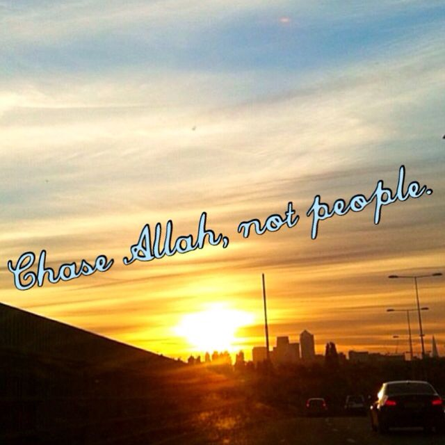 Took that picture myself. SubhanAllah that sunset is so beautiful.