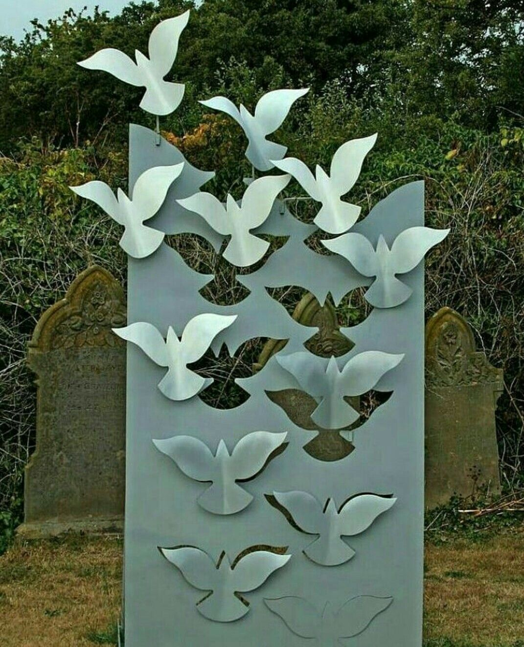 Garden Art With Images Metal Tree Wall Art Metal Wall Art