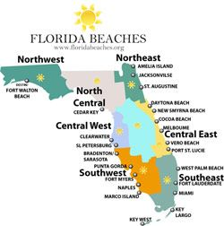 North Florida Beaches Map.Florida Beaches Lucky To Be A Florida Girl Love The Beaches