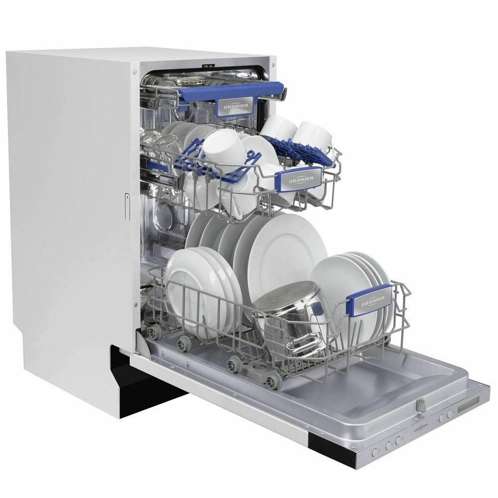 Oranier Spulmaschine Geschirrspuler 45 Cm Vollintegrierbar Aquastop Unterbau Ein Ebay Geschirrspuler Spulmaschine Geschirr