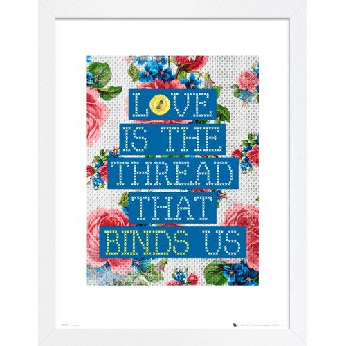 East Urban Home Thread Binds Us' Framed Textual Art In