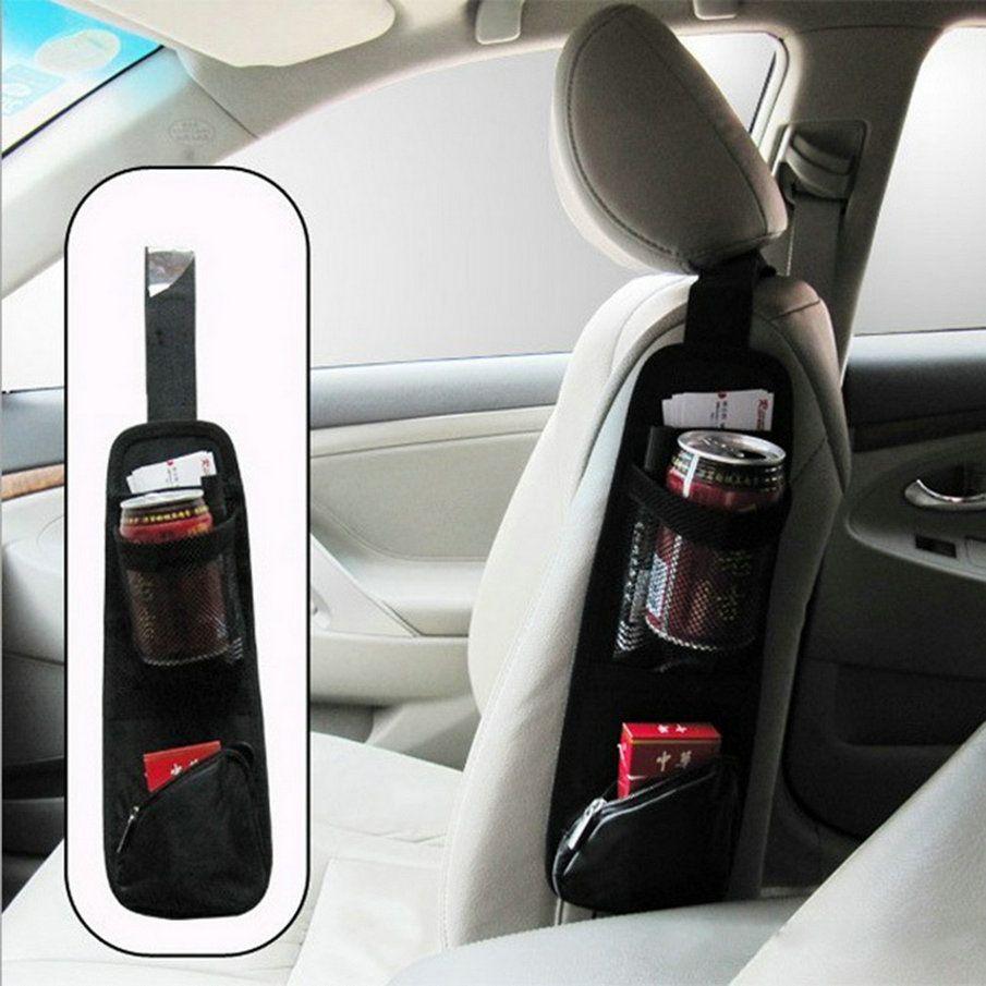 Nuovo tessuto Impermeabile Auto Del Veicolo Seat Side Indietro Stoccaggio Pocket Backseat Hanging Storage Bags Organizer vendita calda
