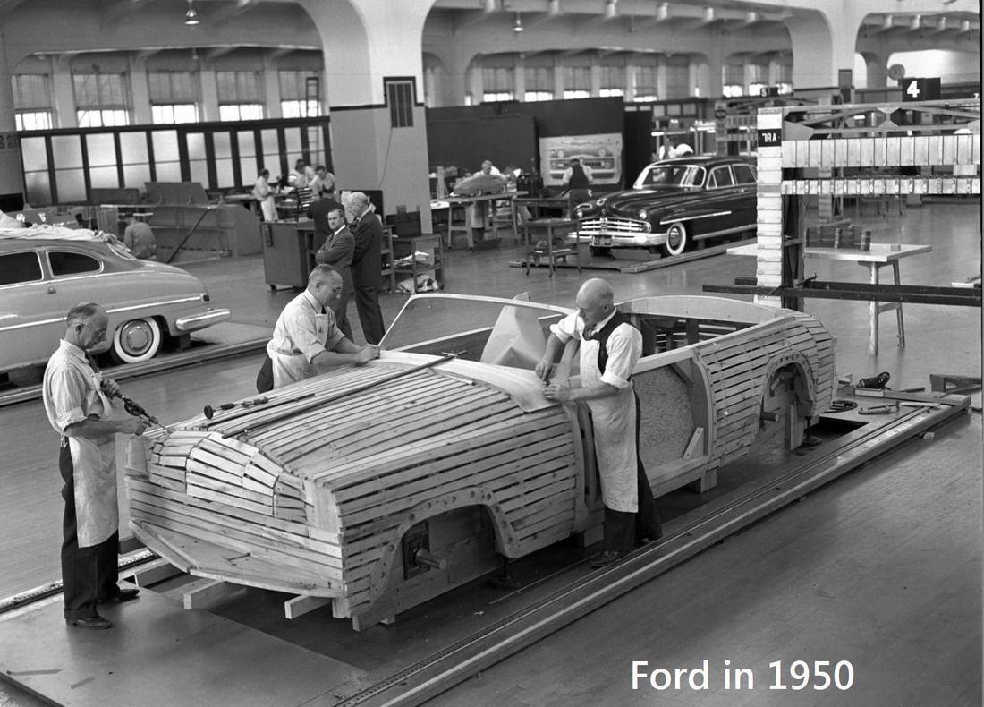 Strange Olde Concept Car Construction Ford Motor Company
