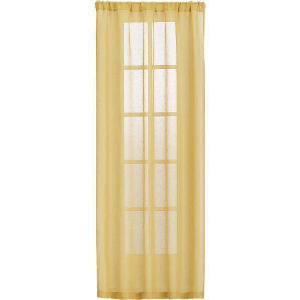Mustard Yellow Sheer Curtain Panels Sheer Curtain Panels Yellow
