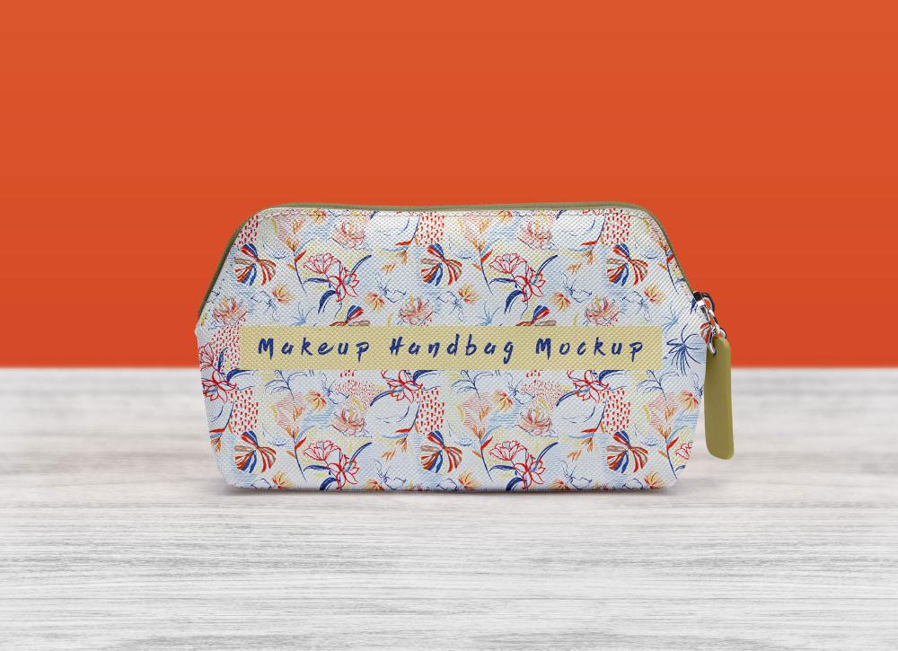 Download Free Photorealistic Makeup Handbag Purse Mockup Psd Good Mockups Free Mockup Mockup Free Psd Frame Mockup Free