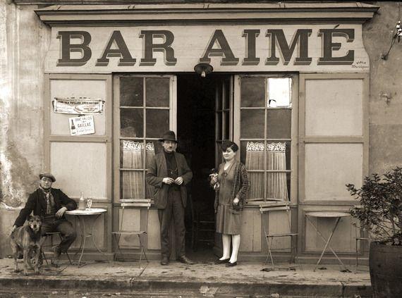 Photo Ancien Commerce De Toulouse Cafe Bistro Bar Aime Retirage