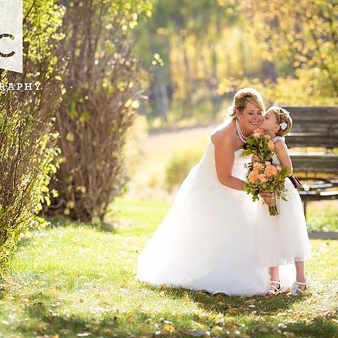 The light. The light!  It was so amazing for this #wedding. #nancycritchleyphotography #bridebook #bride #flowergirl #naturallightphotographer #weddingohotographer #weddison #canongallery #canon5dsr #weddingphoto #yegphotographer #saskatchewan #reesorsranch #cypresshills #grasslandsnp #saskatchewan #destinationwedding
