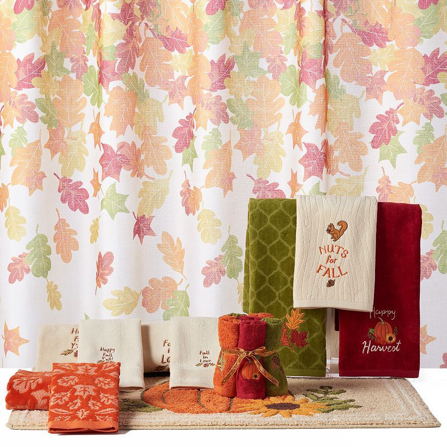 Harvest Shower Curtain Collection