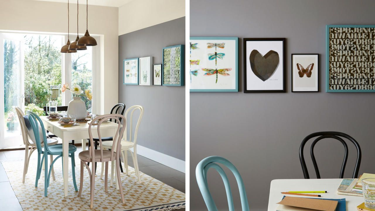 4 Ways To Decorate With Grey Dulux Feature Wall Living