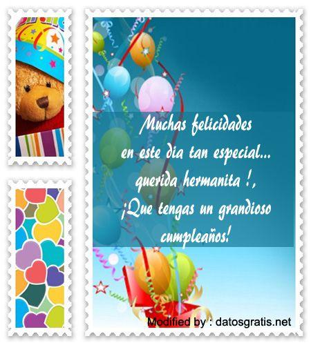descargar tarjetas de cumpleaños para mi hermana,descargar mensajes de cumpleaños para mi hermana : http://www.datosgratis.net/bonitos-mensajes-de-cumpleanos-para-mi-hermana/