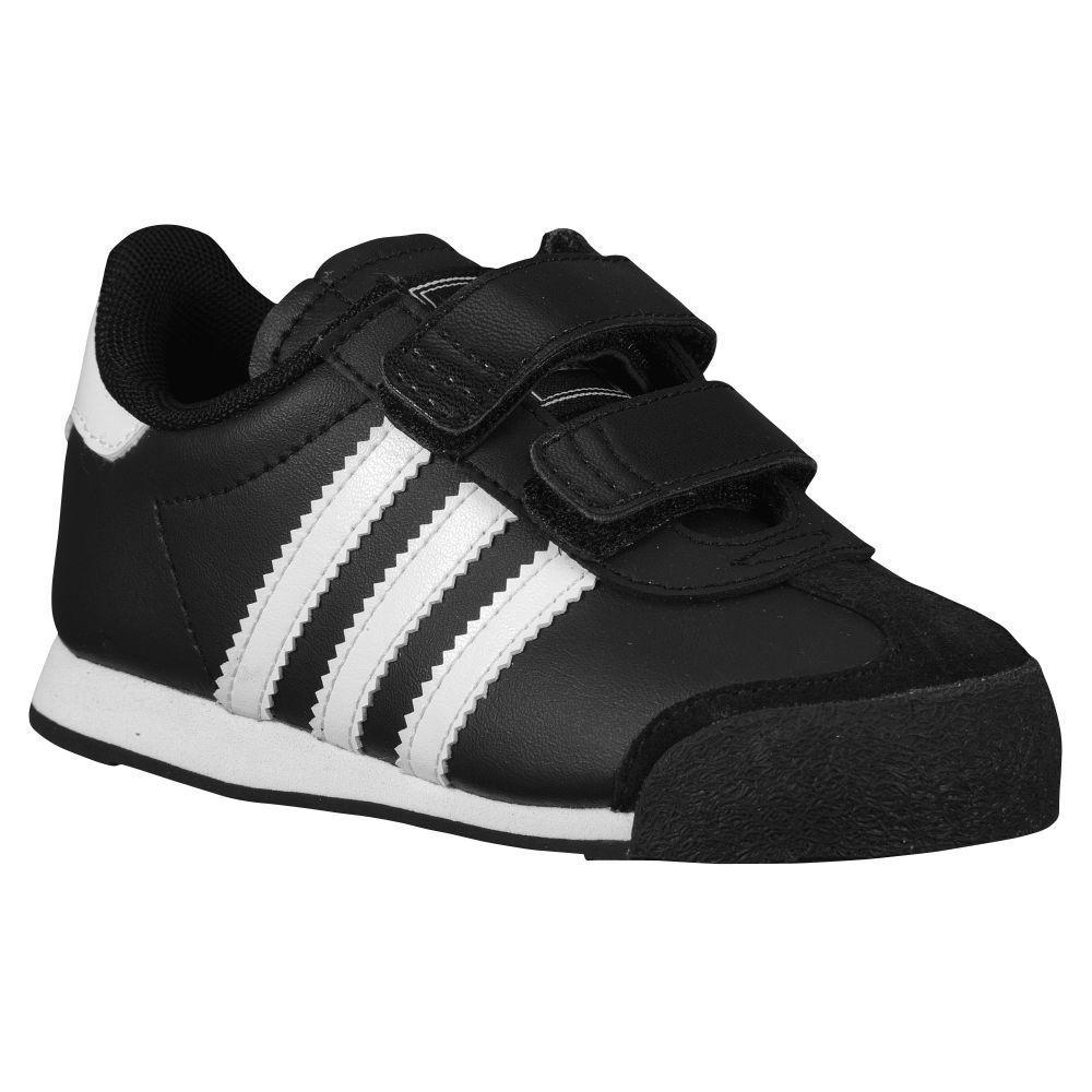 3cfc3f4af989 n2sneakers - adidas Originals Samoa Boys  Toddler Black White Black