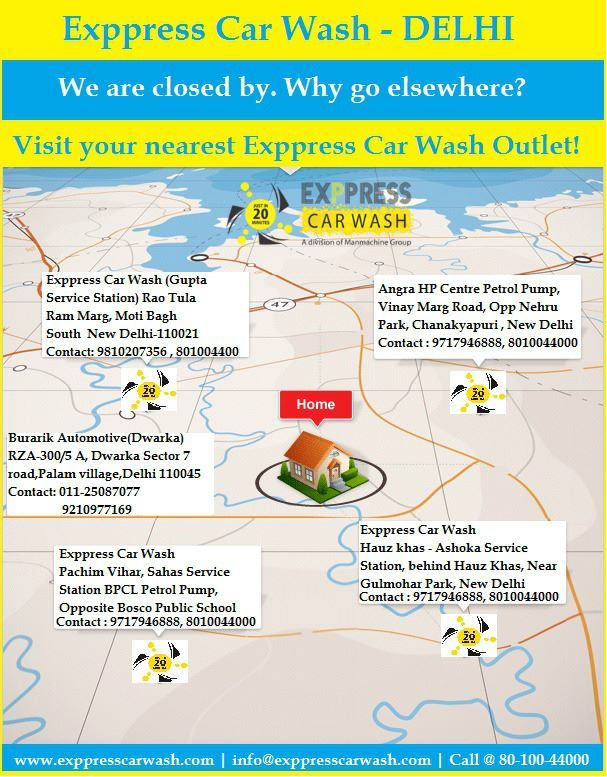 Visit your nearest Exppress Car Wash Outlet Today.carwash