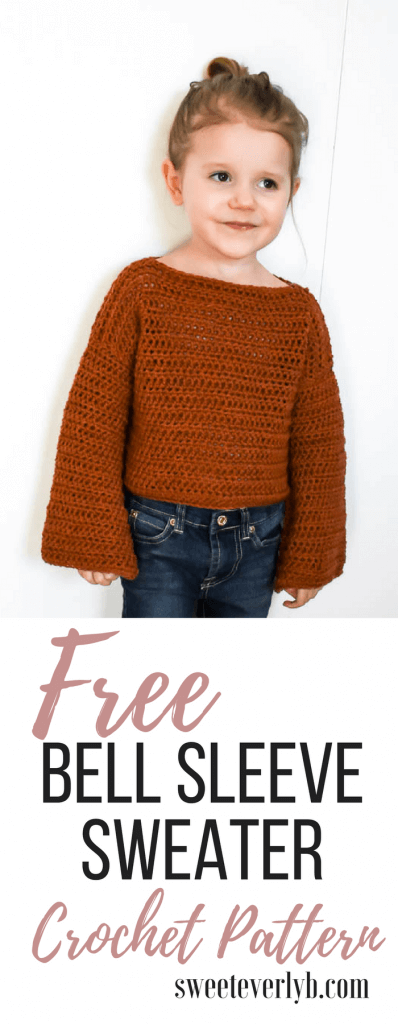 How To Make A Simple, Modern Crochet Toddler Sweater - Sweet Everly B
