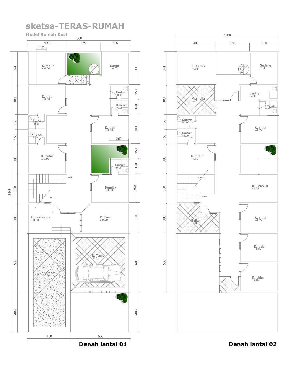 Desain Rumah Memanjang : desain, rumah, memanjang, Informasi, Desain, Rumah, Kecil, Memanjang, Prosforjdacom, Rumah,, Desain,
