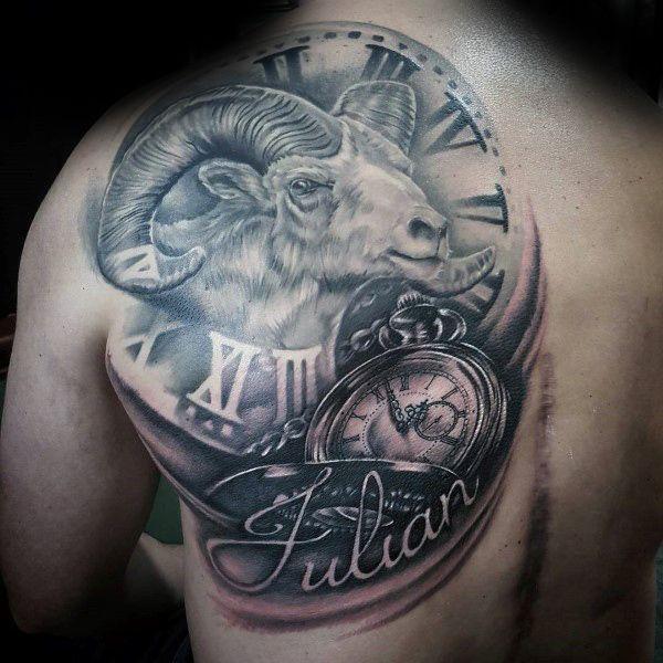 100 Ram Tattoo Designs For Men Bighorn Sheep Ink Ideas Aries Tattoo Ram Tattoo Sagittarius Tattoo Designs