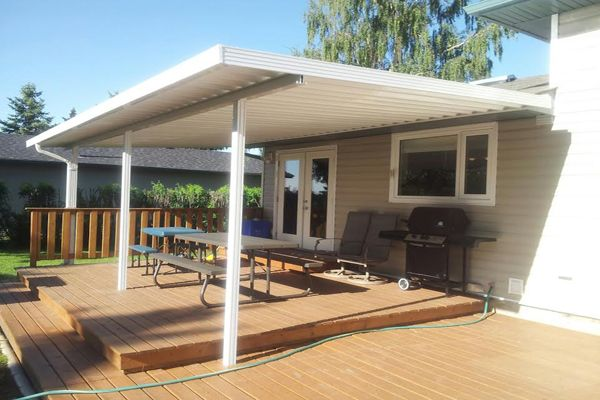 View Photo Gallery From Gl Aluminum Do It Yourself Patio And Carport Covers Are High Quality And Aluminum Patio Covers Patio Seating Area Patio Furniture Fire