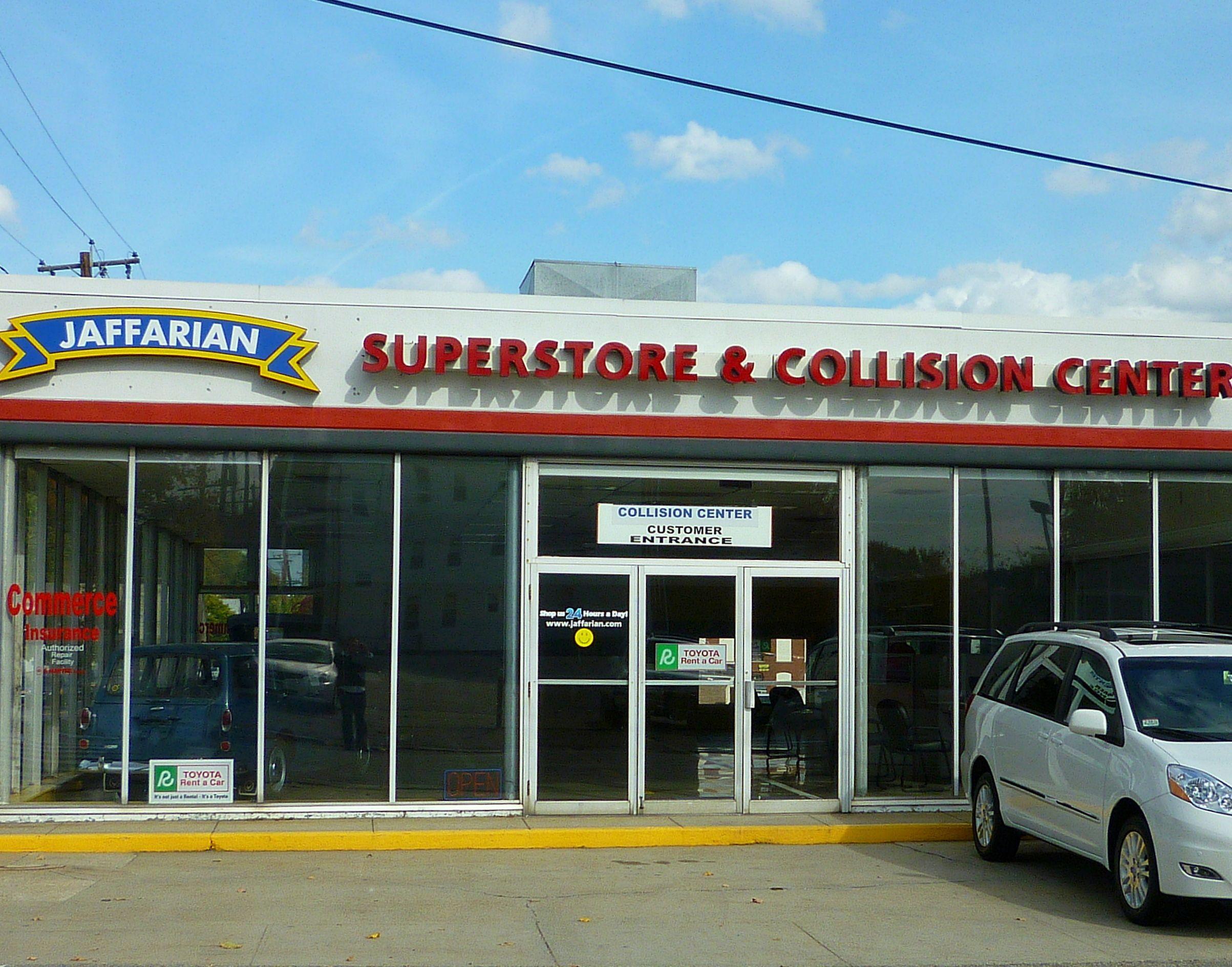 Jaffarian Collision Center2.jpg Volvo dealership, Auto