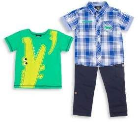 5fdaaf3e6 Boys Rock Baby Boy s Three-Piece Tee