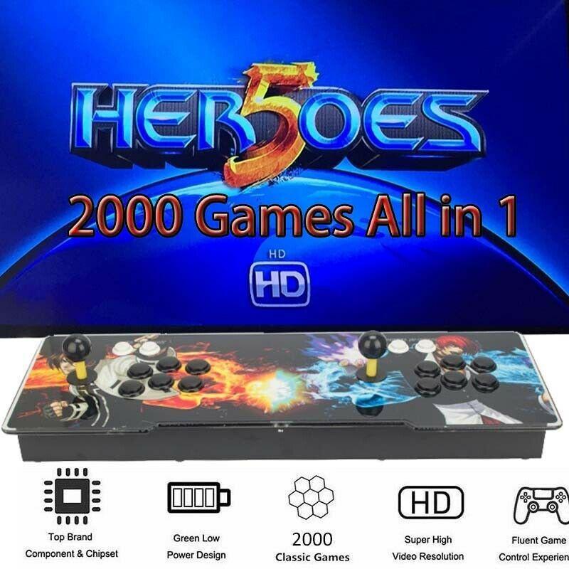Ebay sponsored newest 2000 games in 1 heroes gaming box 5