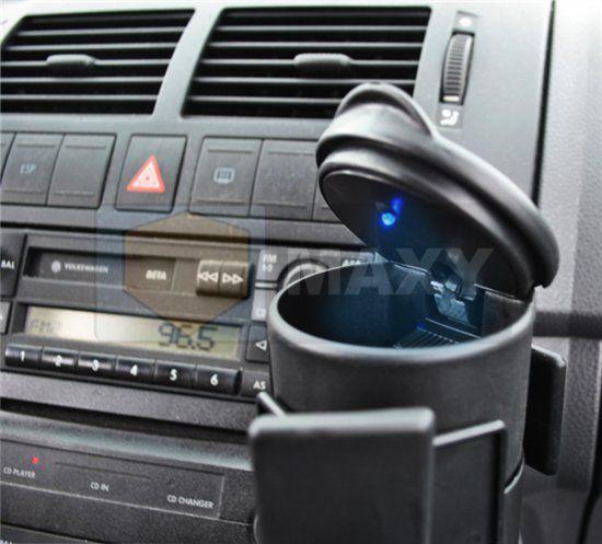 Auto Asbak Bekerhouder Met LED Verlichting - Rookvrije Staande ...