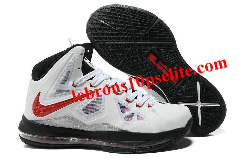 Nike Zoom LeBron 10(X) 2012 White/Black