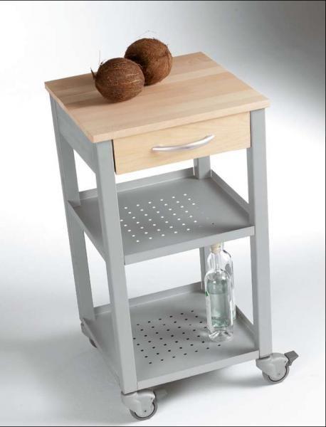 carrello portavivande acciaio e legno   Nido 3.0 - Cucina ...