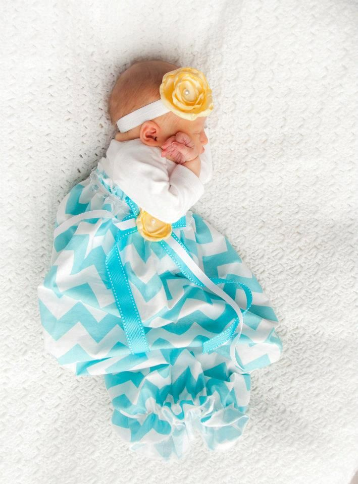 Baby Girl Dress, Baby Girl bodysuit Dress, Aqua Chevron Dress ...