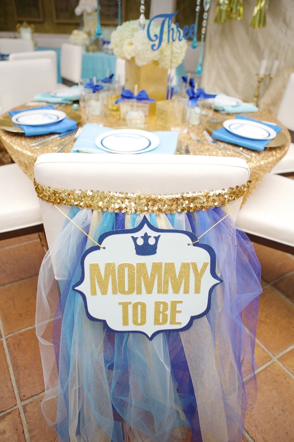 Mommy To Be Sign For Chair Back At Baby Shower Dining Tables At Fig