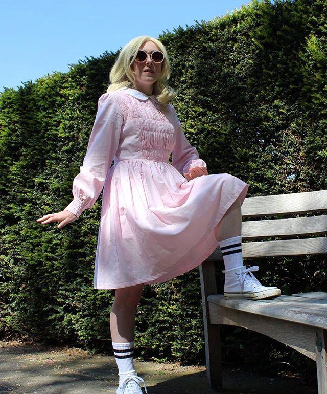 DIY Stranger Things Eleven Costume Eleven stranger