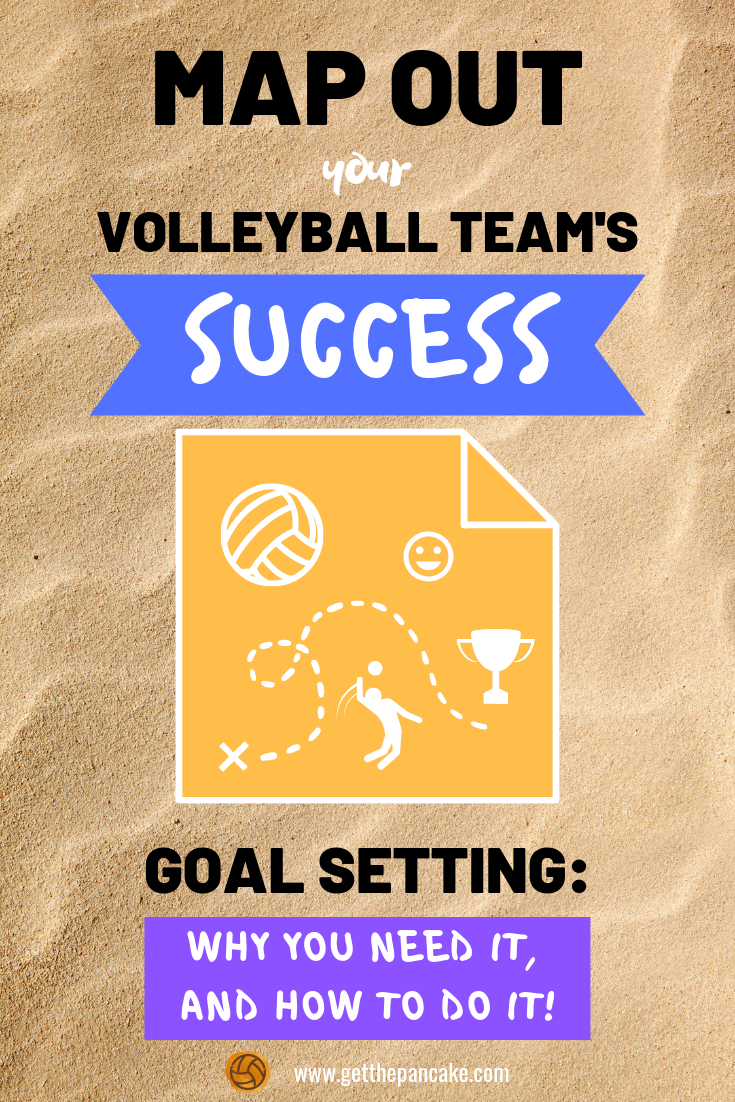 Coach How To Set Goals With Your Volleyball Team Coaching Volleyball Volleyball Training Volleyball Team
