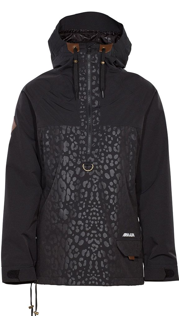 728d5dce95 Canyon Pullover - Black Leopard