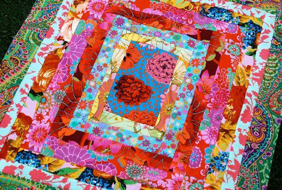 Pin By Dana Yearsley On Kaffe Fasset Kaffe Fassett Fabric Bright Quilts Quilts