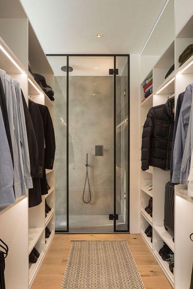 Holz Fußmatte Badezimmer | Helles Holz Anthrazitgrau Begehbarer Kleiderschrank Badezimmer