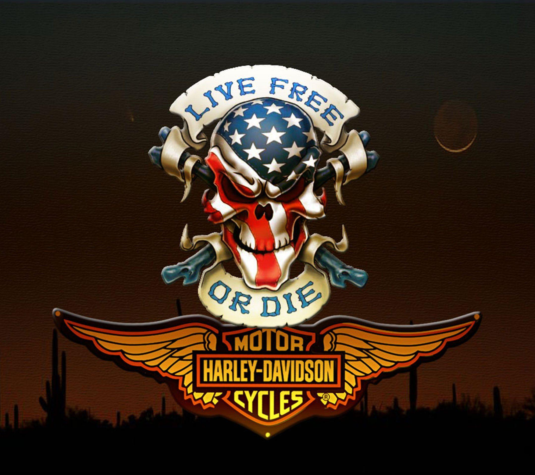 harley davidson logo 30 desktop background wallpaper h d