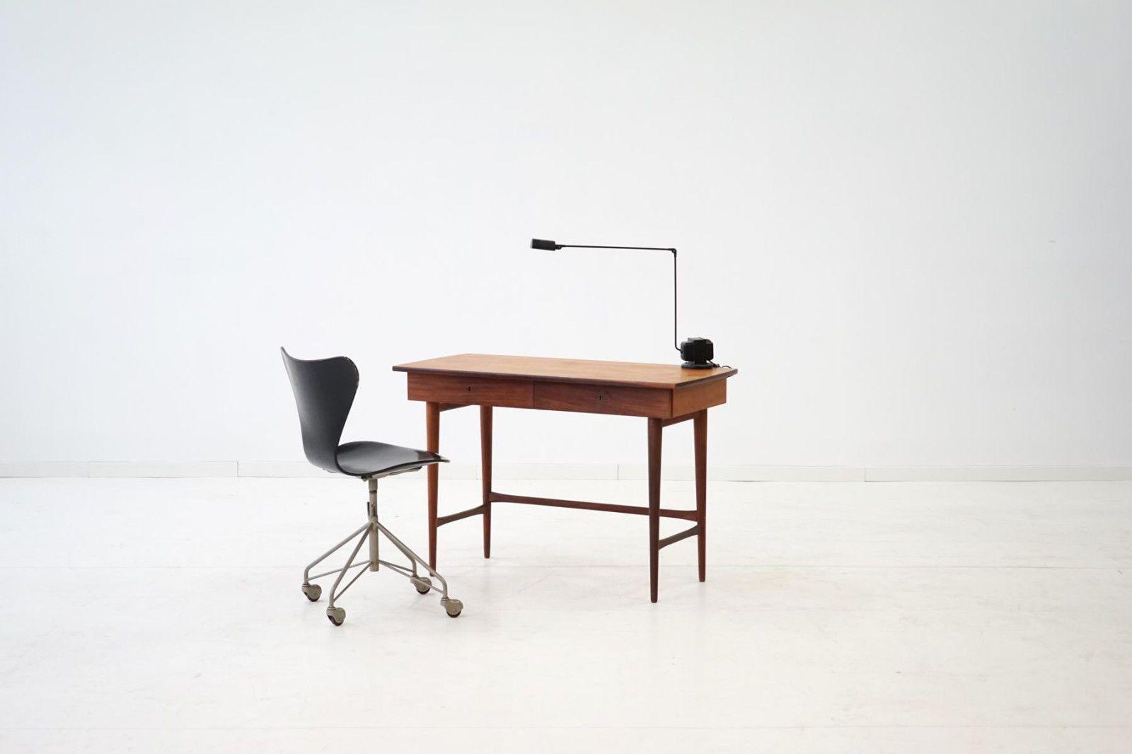 Teak Boomerang Schreibtisch Desk Tisch lady office desk vintage ...