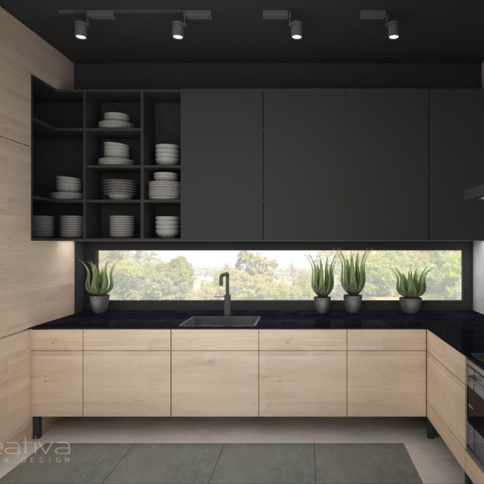 Nowoczesna Kuchnia W Stylu Industrialnym Home Furniture Home Decor