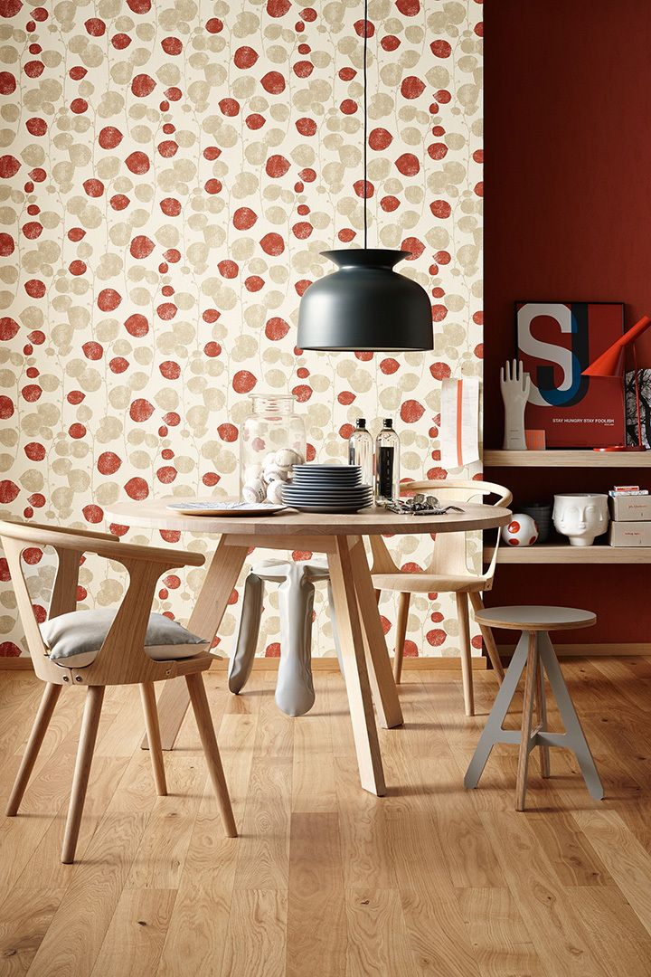 Bunte Farben und besondere Designs mit der u0027u0027Schöner Wohnen 7 - tapeten wohnzimmer ideen 2013