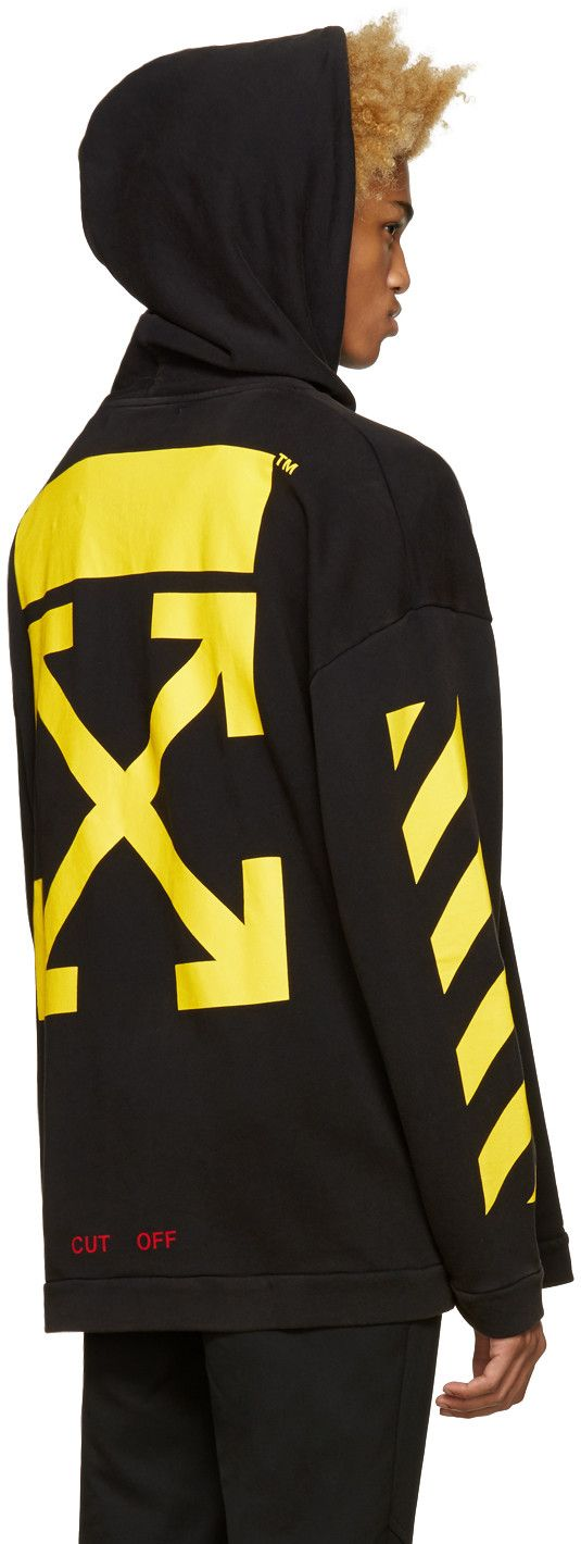 ee3182958608 Off-White - Black Narciso Hoodie