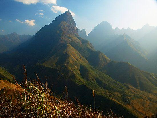 Asian mountain range lai