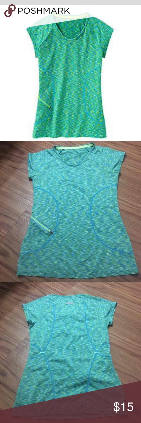 Athleta shirt Excellent condition size XS runs big like size S Athleta Tops Tees - Short Sleeve