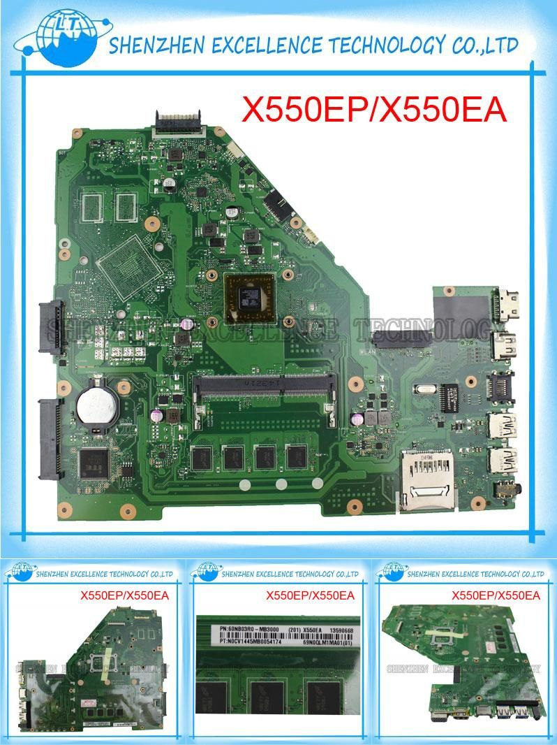 Visit To Buy X550ea X550ep Laptop Motherboard For Asus Amd A4 5000 Cpu Integrated Mainboard 60nb03r0 Mb300 High Laptop Motherboard Computer Components Asus