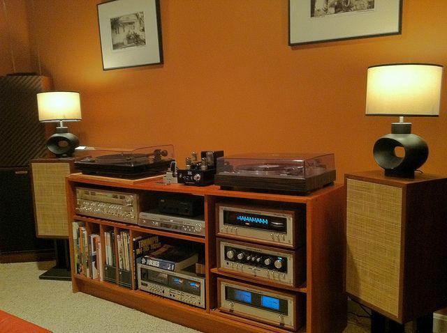 Vintage Stereo Set Up | Audio, Vintage and Audiophile