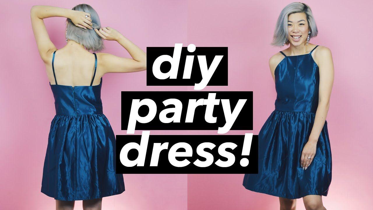 Hereus how i made a partycocktailwedding guest dress for a wedding