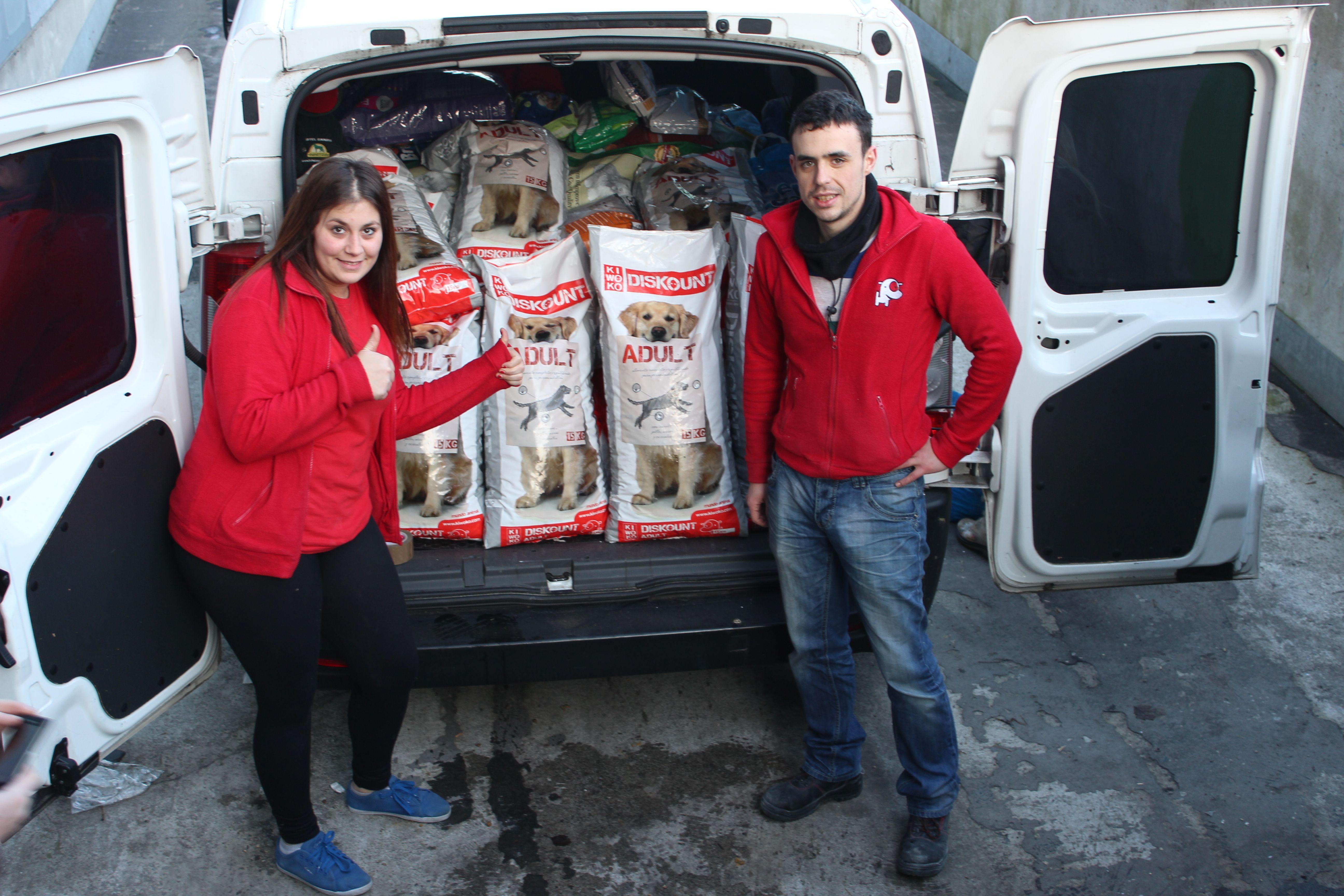 Kiwoko Bilbao Donacion A Puppy Bilbao Con Imagenes Tienda De
