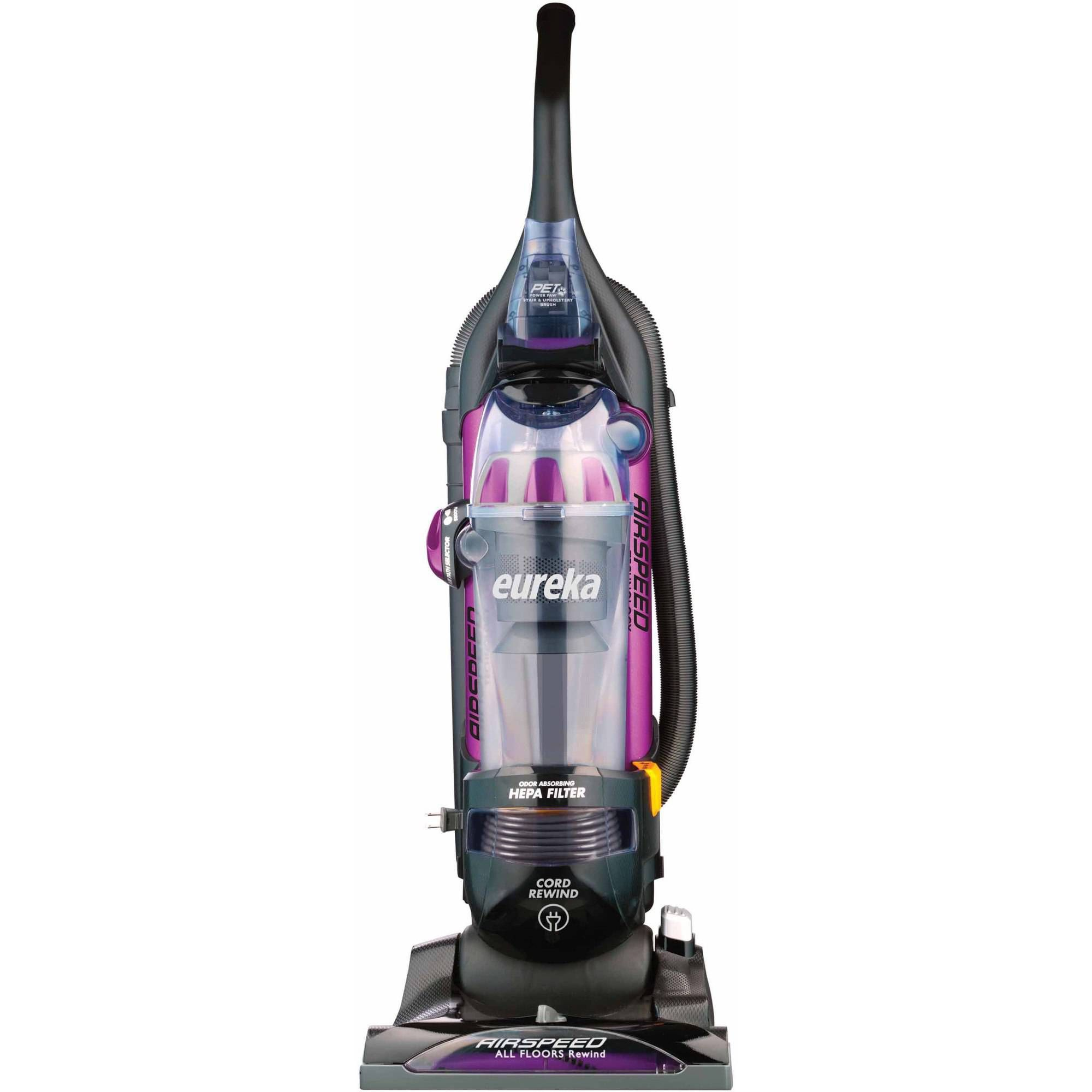 Refurbished Eureka All Floors Rewind Pet Bagless Upright Vacuum, AS1061A Sale