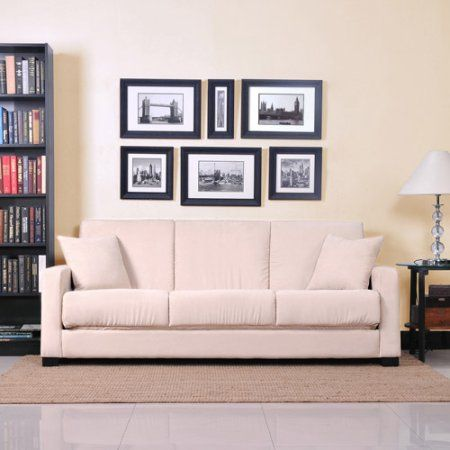 Tahoe Convert-A-Couch Sofa Sleeper, Multiple Colors, Beige