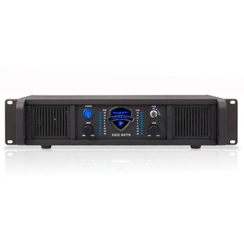 Technical Pro Lz6200 2u Professional 2ch Power Amplifier 110 220v
