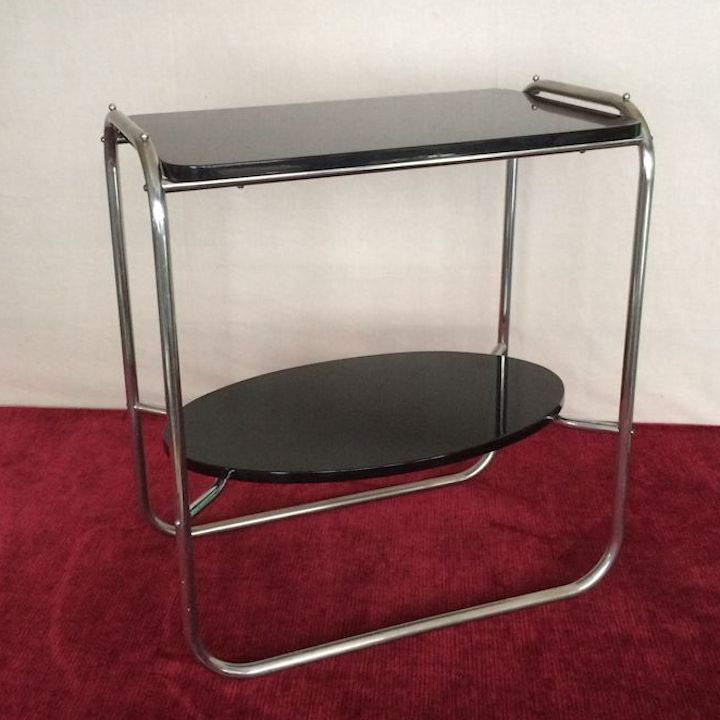 #ArtDeco#Tisch#Beistelltisch#Design#vintage#antik#antique#Möbel 01853 U2013 Art  Deco Beistelltisch Mit Zwei Platten Art.Nr.: 01853 Der Art Deco  Beistelltisch ...
