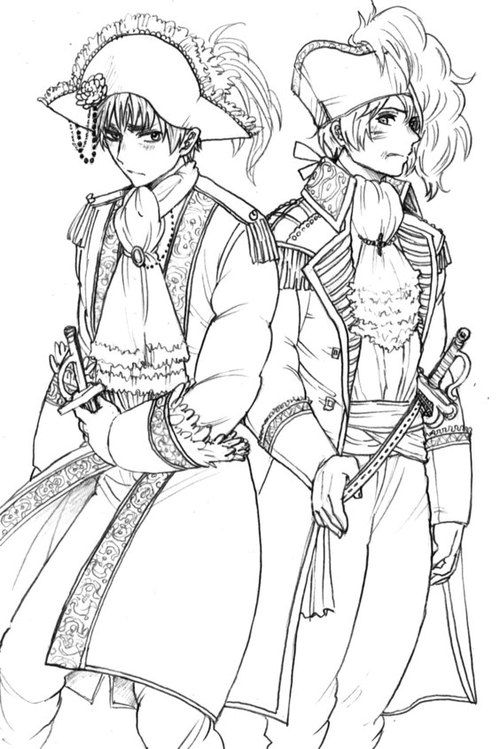 hetalia coloring pages # 8