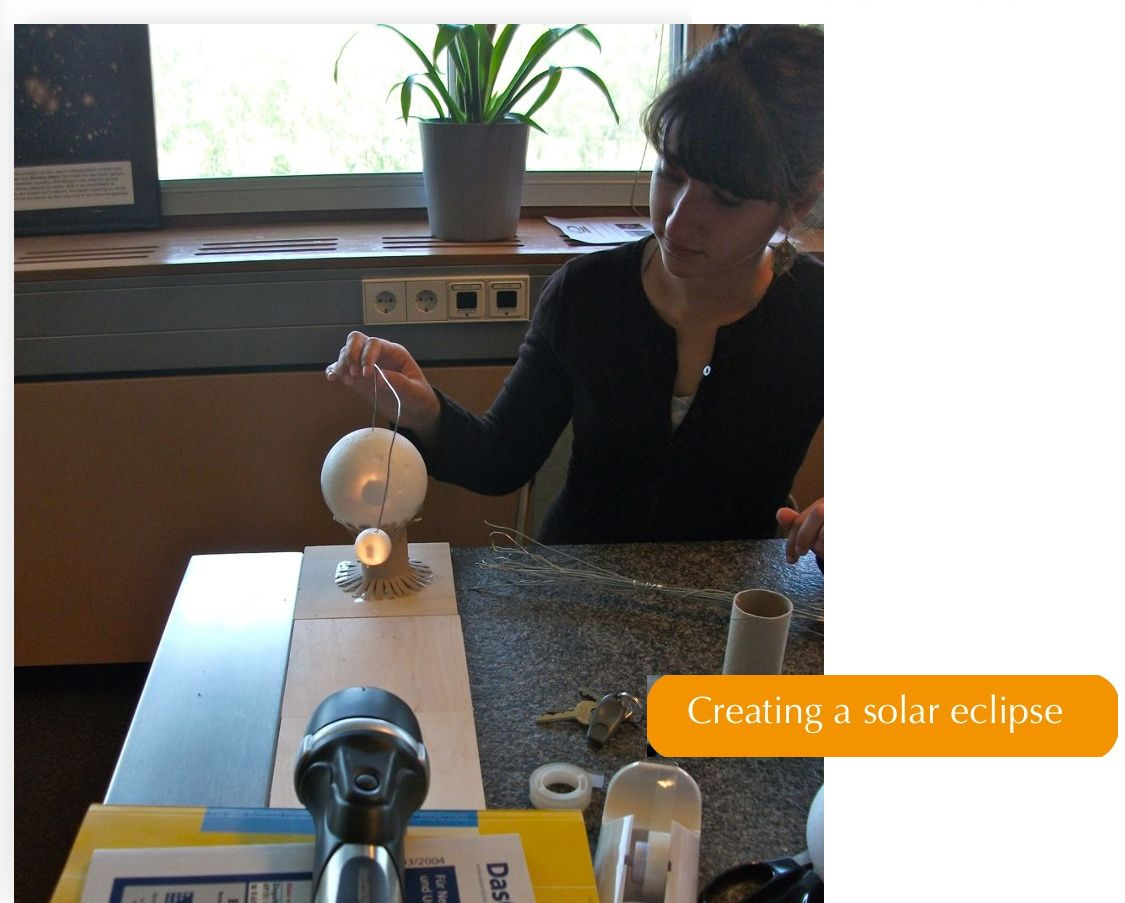 Creating Eclipses In The Classroom